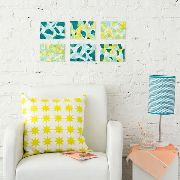 This Is the Easiest *and* Cheapest Way to Make Wall Art