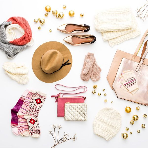 30 Blush and Rose Gold Items to Warm Up Your Winter Look
