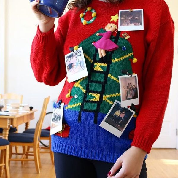 18 Instagrammers Already WINNING the Ugly Sweater Game