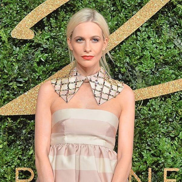 Poppy Delevingne Just Broke 3 Red Carpet Rules + Looked Amazing
