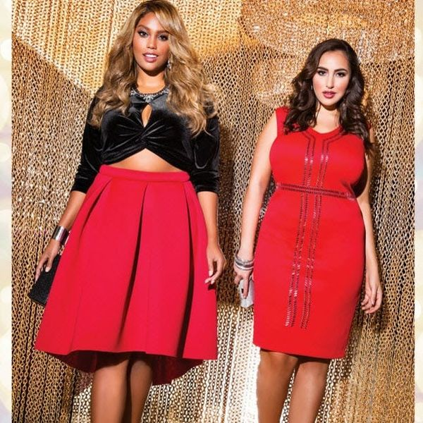 This Plus-Size Fashion Line Has the Hottest Holiday Dresses