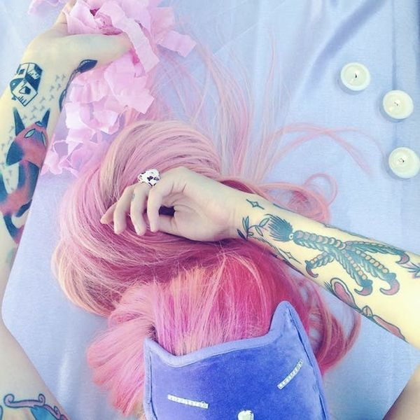 This Tattoo Artist's Colorful Designs Prove Tatts Can Be Cute AF