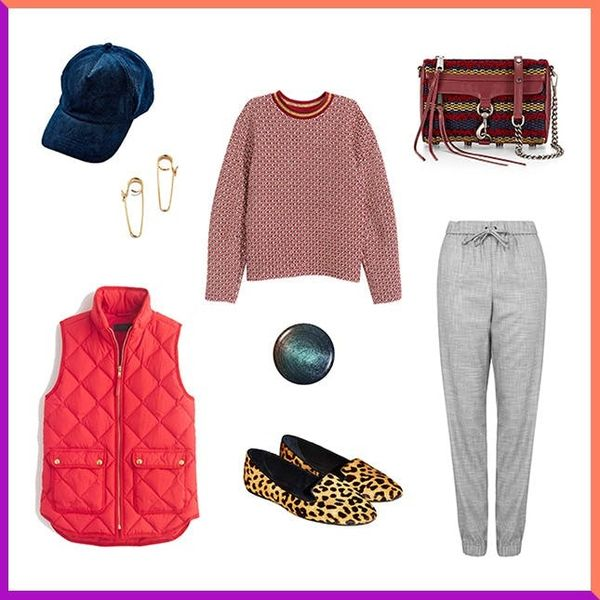 3 Ways to Look Stylish in a Quilted Puffer Vest