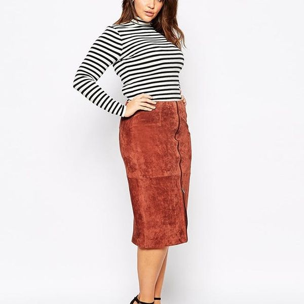 12 Midi Skirt and Sweater Combos to Make Getting Dressed SO Easy