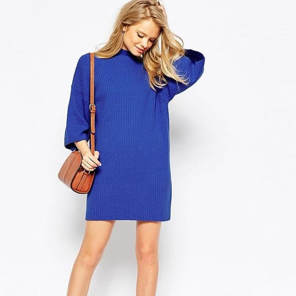 You NEED This Cozy Dress to Wear All Fall Long