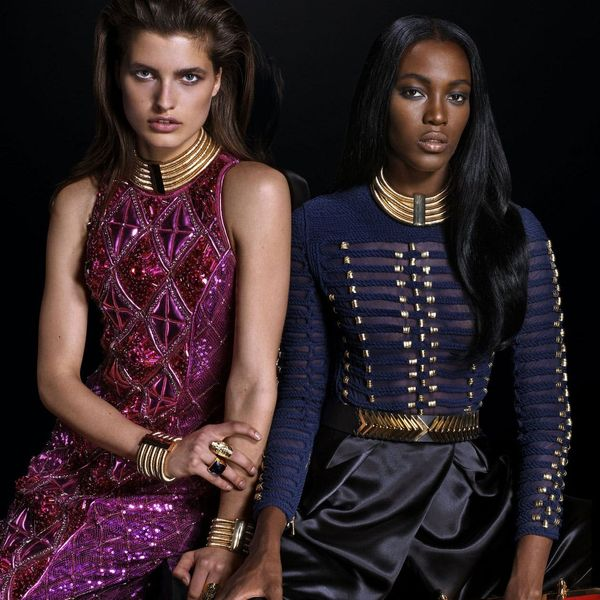 The Balmain + H&M Lookbook Is Everything Your Holiday Attire Needed and More