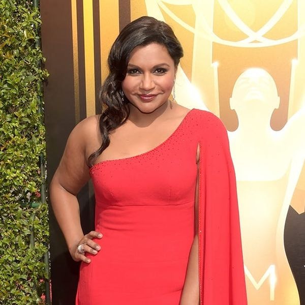 Mindy Kaling Had the Most DIYable Accessory at the Emmys