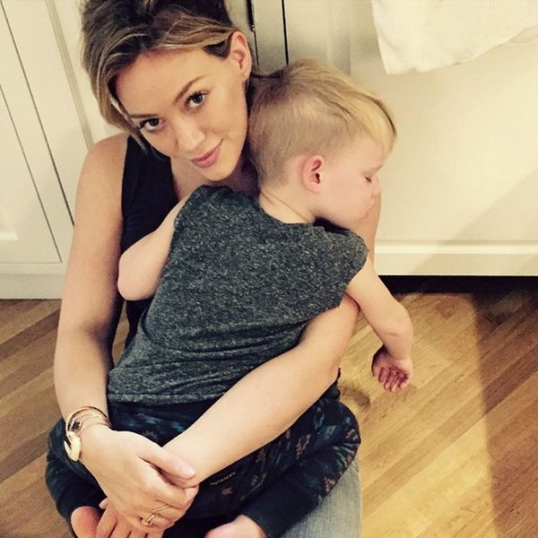 Hilary Duff and Her Son Are Rocking the Cutest Matching Accessory