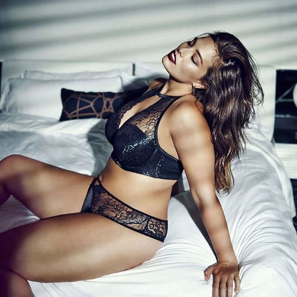 This Model's Plus-Size Lingerie Line Is Perfect for Tricky Tops