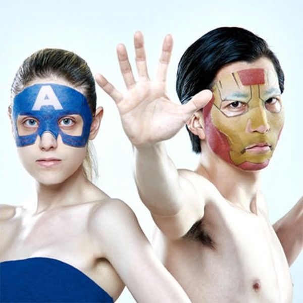 These Crazy Japanese Beauty Masks Will Make You Look like a Superhero