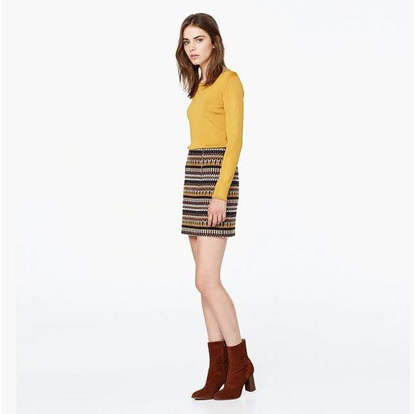 9 Mini Skirt + Tights Pairings to Get You Through Fall
