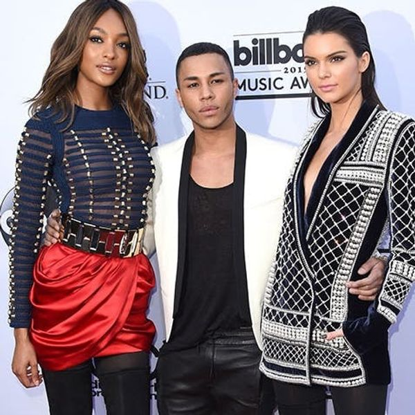 See a New Look from the Balmain + H&M Collaboration