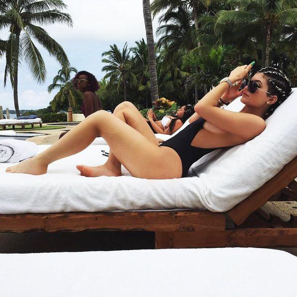 Oh Snap! Kylie Jenner Has the BEST Vintage Swimsuit Secret
