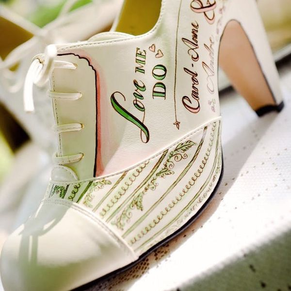 You've Never Seen Wedding Shoes like These Before