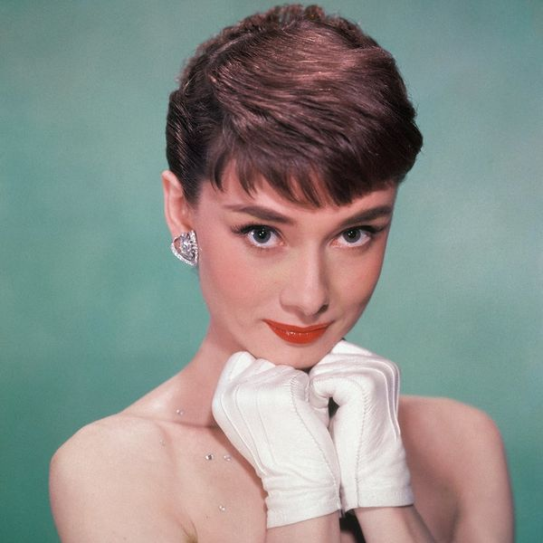 Audrey Hepburn's Crazy Eyelash Trick Will Freak You Out