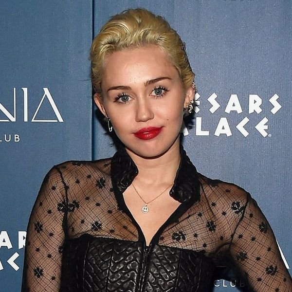 Miley Cyrus Has a Genius Hack for Covering Up Zits