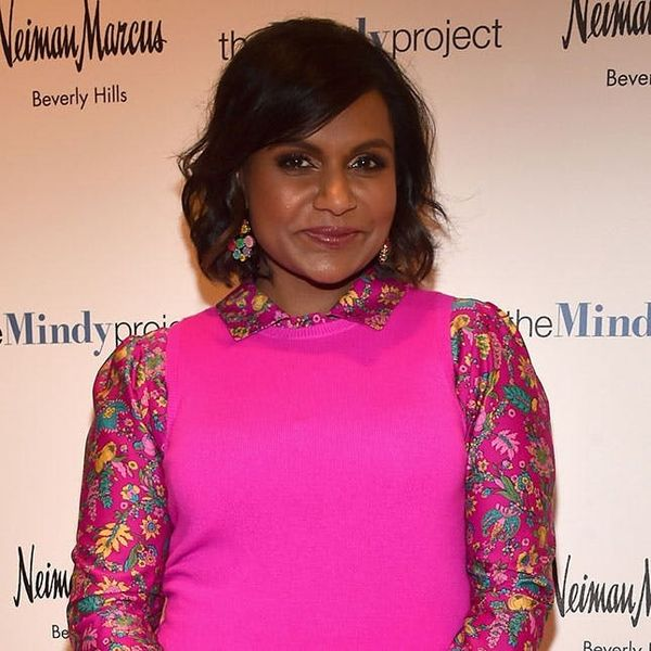 Mindy Kaling Shows Why You Need *This* Color in Your Wardrobe Right Now