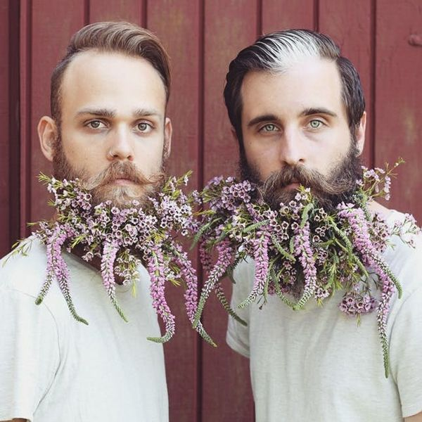 This Creative + Colorful Beard Duo Should Be Every Man's Style Inspo