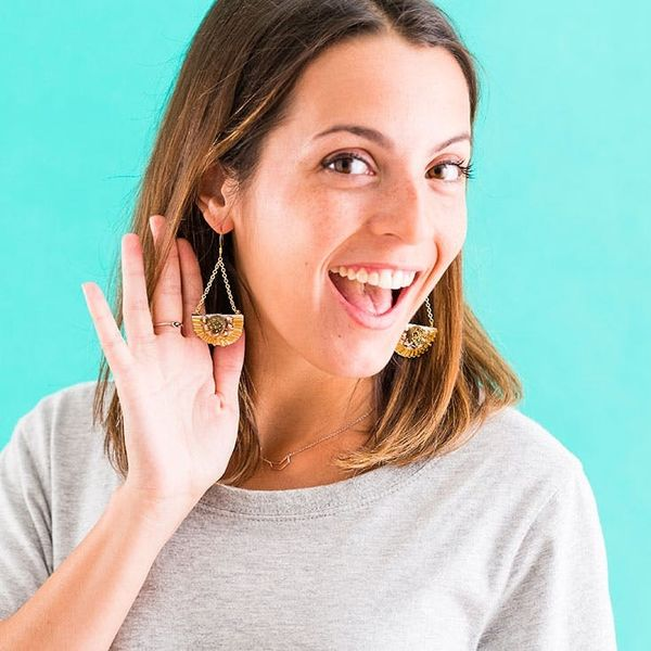 This Woman's Earring Hack Will Blow Your Mind