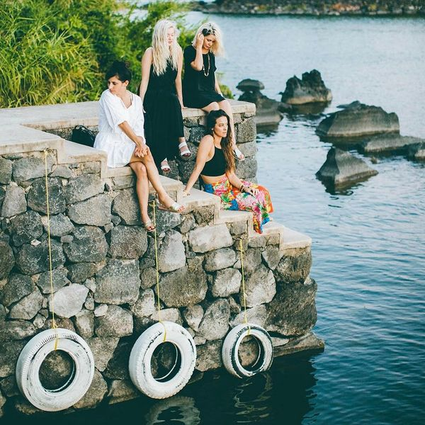 This Creative Girl Gang's Tropical Vacay Will Give You Serious #SquadGoals