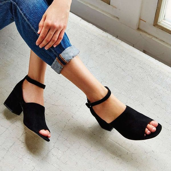 18 Unique Pairs of Black Heels That'll Go With *Everything*