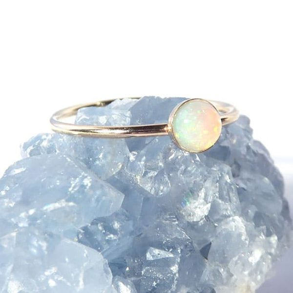 15 Stunning Opal Jewels You'll Stare At All Day