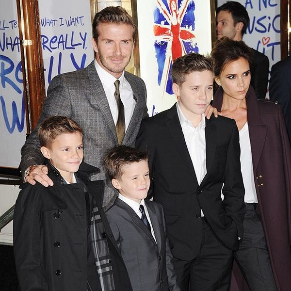 This Is the Trick to Dressing Your Little One like the Beckhams' Kids