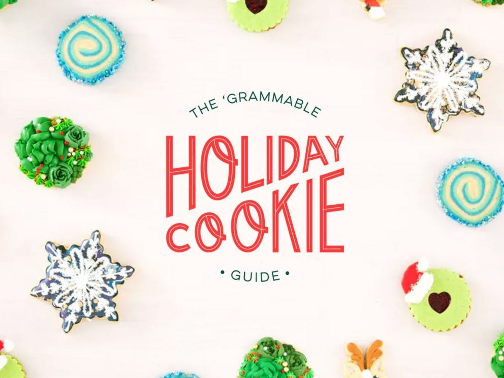 Brit + Co's 'Grammable Guide to Holiday Cookies