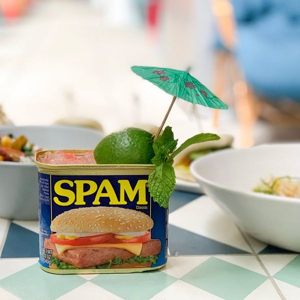This Mai Tai Recipe, Served in an Empty Spam Can, Will Give You Serious Vacation-y Vibes