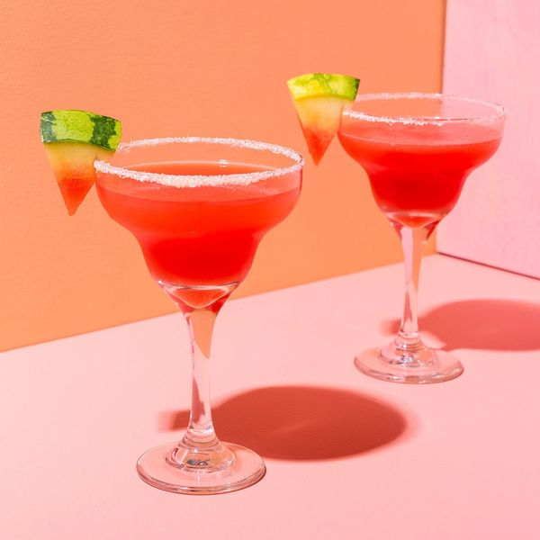 Watermelon Jelly Margaritas to Sweeten Any Galentine's Day Party