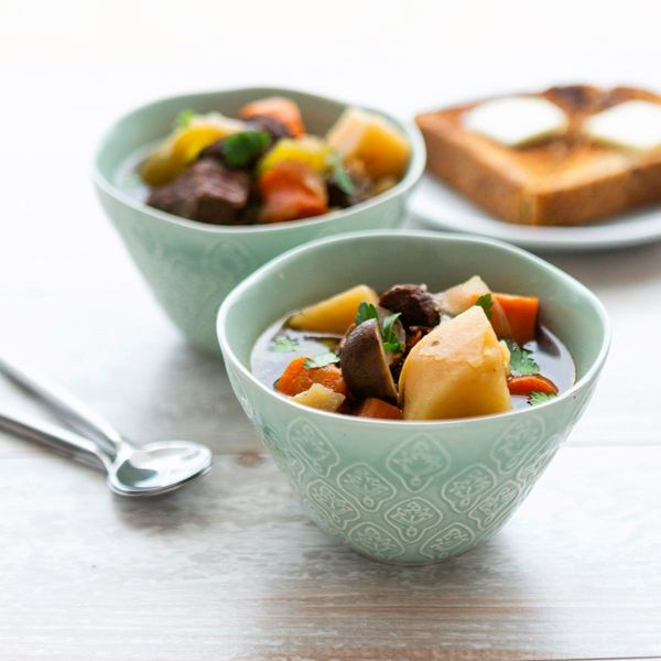 This Easy, Weeknight Beef Stew Recipe Begins With Your Instant Pot