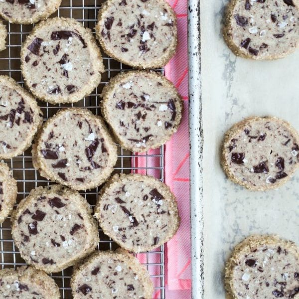 Try This Salted Chocolate Chunk Shortbread Cookies Recipe That's All Over Your IG Feed