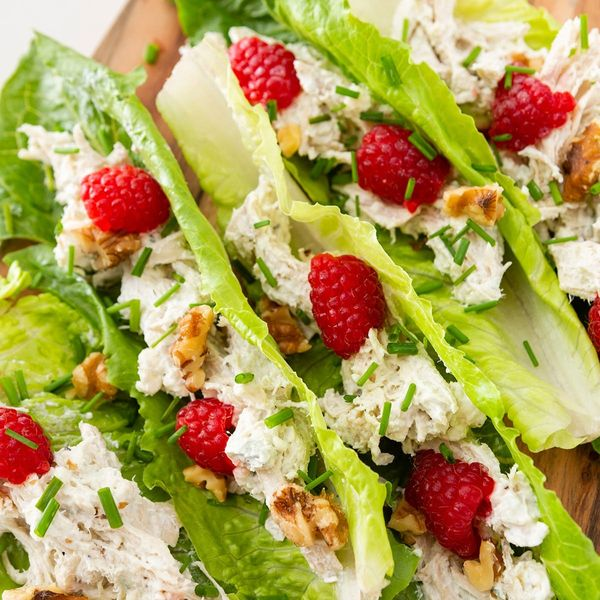This Chicken Salad Keto Lettuce Wraps Recipe Lets You Snack Fast When Hanger Strikes