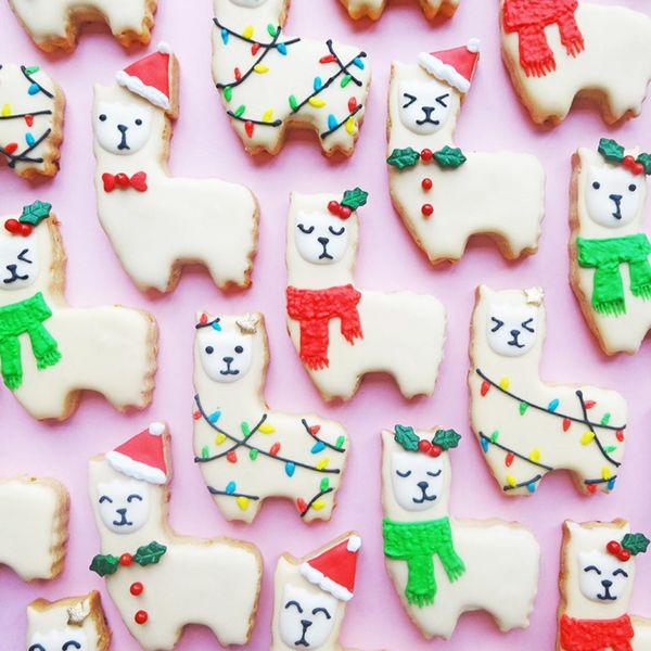 Make This Llama Orange-Spiced Cookies Recipe for the Holidays