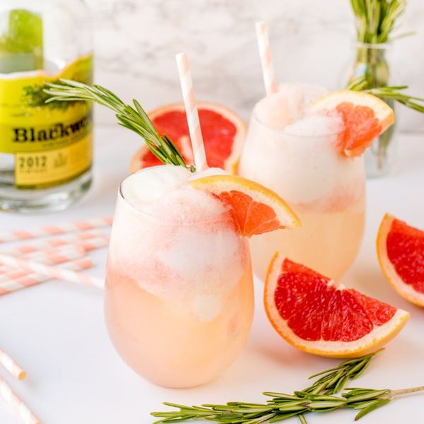 Who Needs Dessert? Try This Gin + Sorbet Cocktail Recipe Instead!