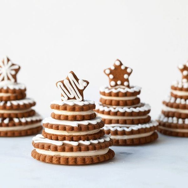 Make This 3D Gingerbread Cookie Trees Recipe for the Holidays