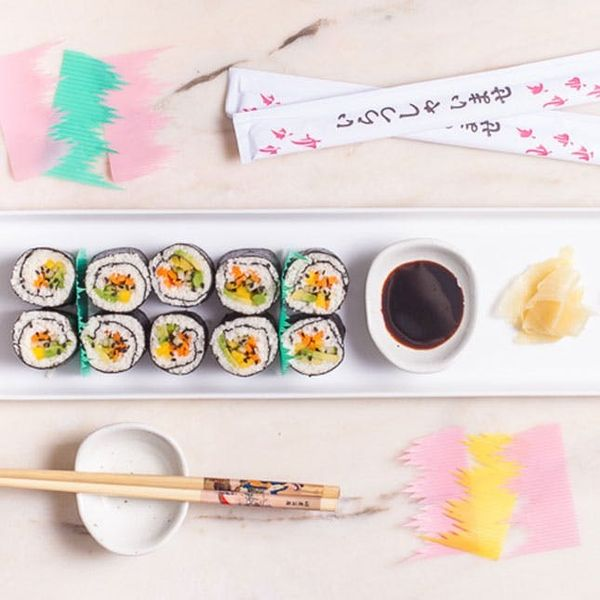 How to Make the Simplest DIY Cauliflower Rice Sushi Ever