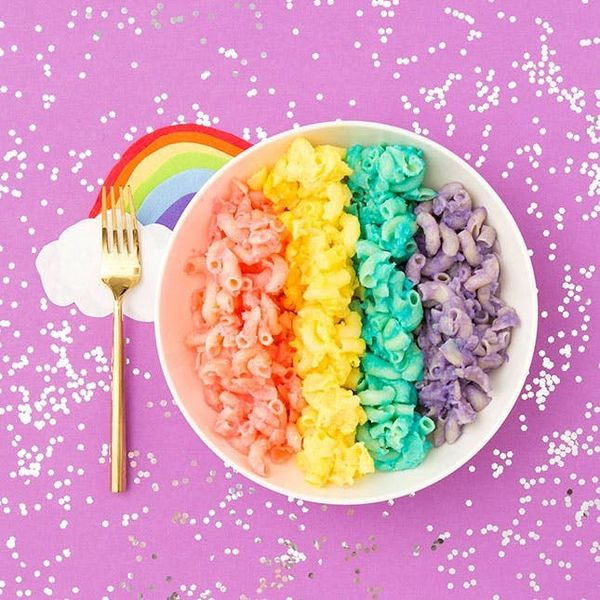 This Homemade Rainbow Mac and Cheese Recipe Will Change Your Life