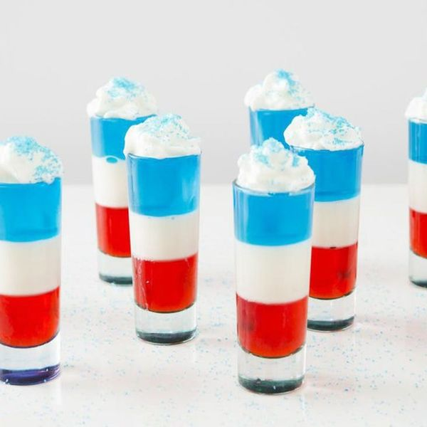 Get Ready for the 4th of July With This Red, White and Blue Jello Shots Recipe
