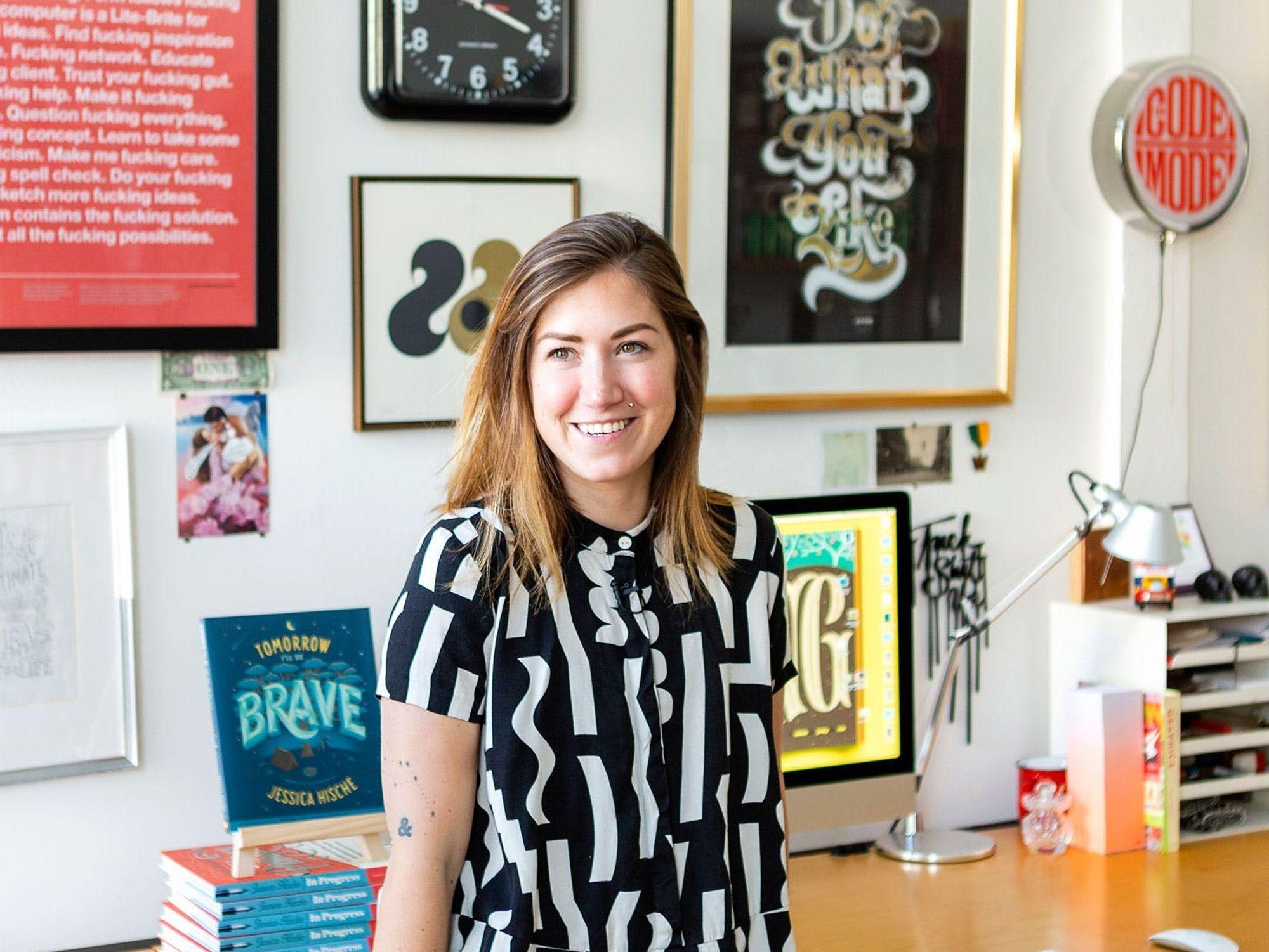 Why Designer Jessica Hische Wrote a Children's Book on Being Brave