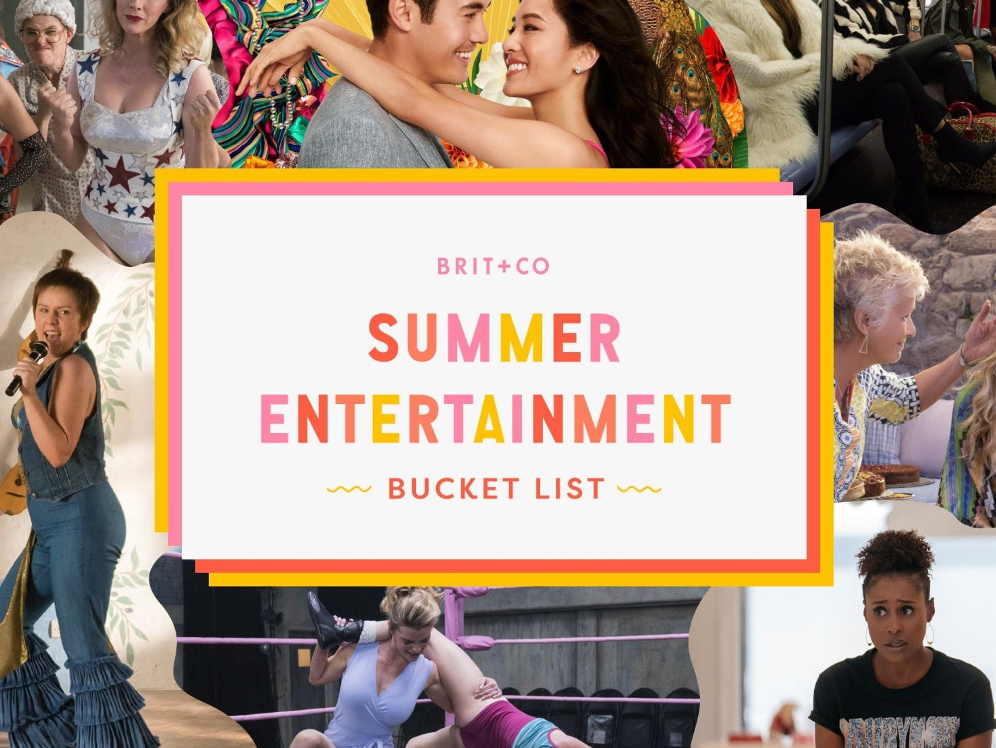 Brit + Co's Summer Entertainment Bucket List