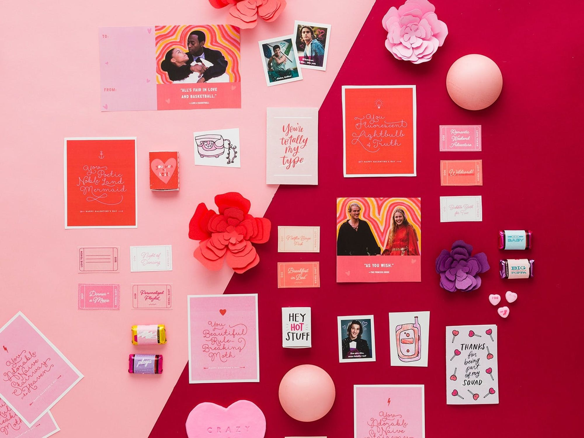 Last Minute Valentine's Day Printables for Everyone You Love