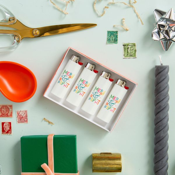 New Gift Idea Alert! These Personalized Lighters Are *Lit*