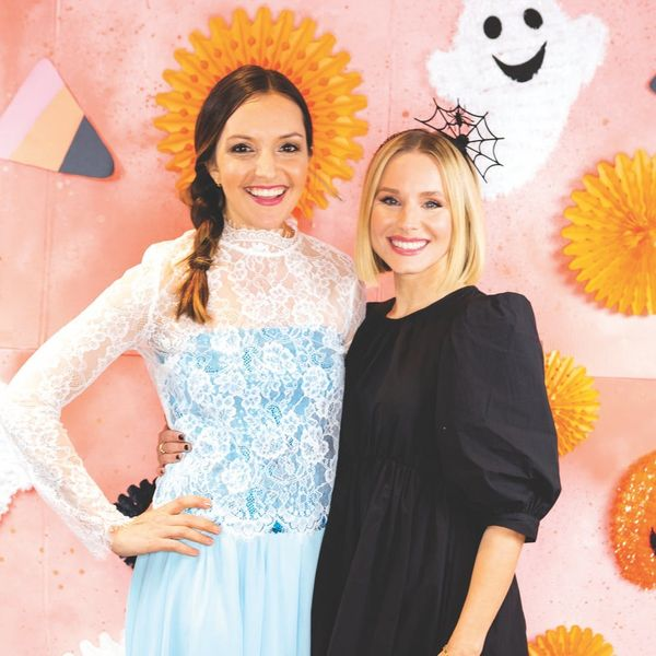 A Peek Inside Our Halloween Bash With Kristen Bell and Dax Shepard