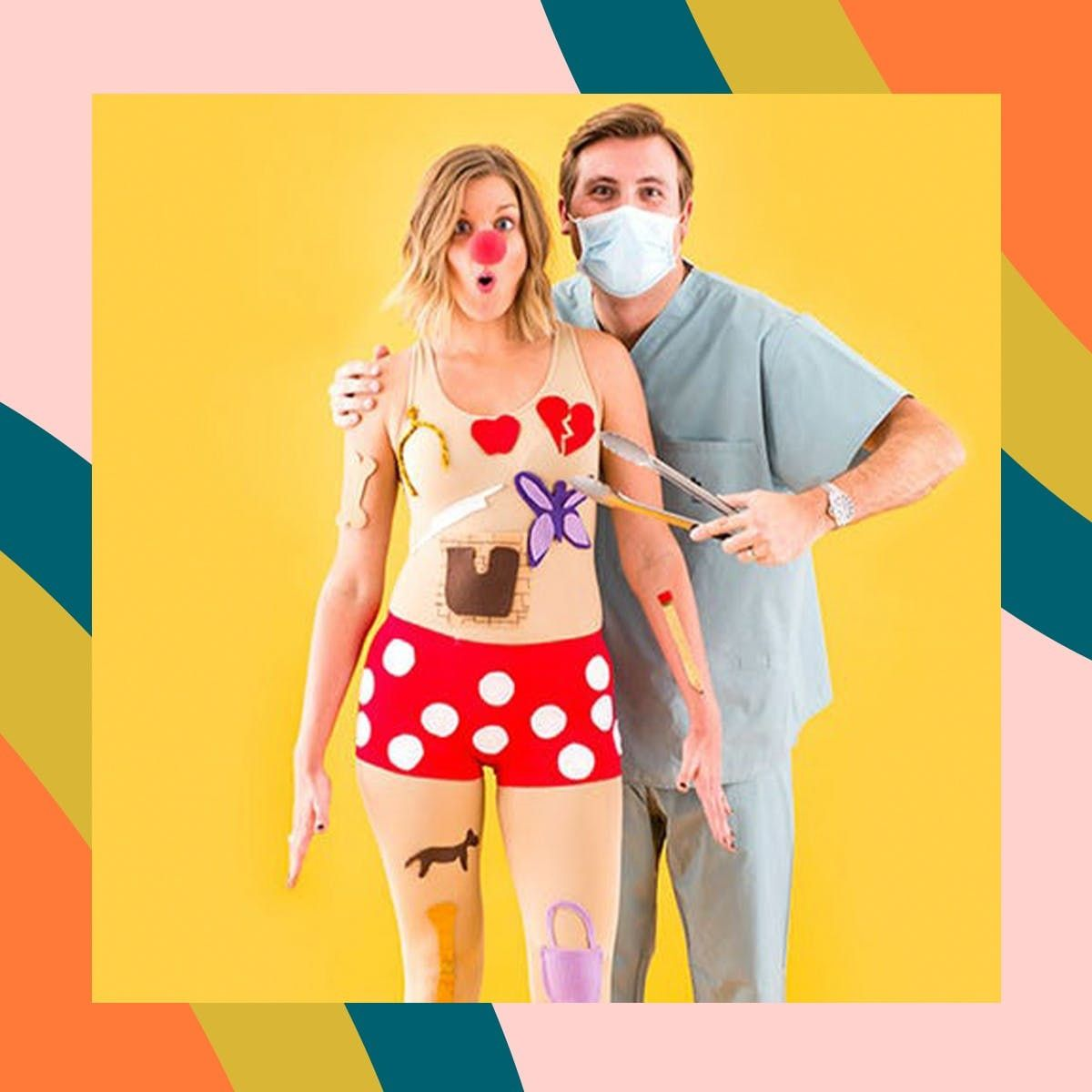 45 Last Minute Couple Costumes You Can Totally Diy By Halloween Brit Co
