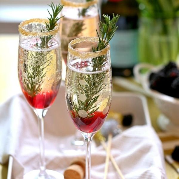 10 New Year's Eve Drinks That Take Champagne to the Next Level