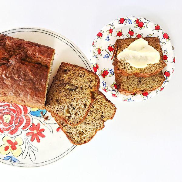 How to Make One Bowl Gluten-Free Banana Bread