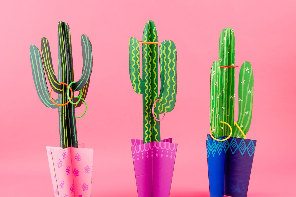 Cactus Ring Toss is the Lawn Game You Need RN