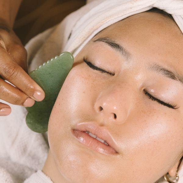 Lift and Detox Skin with a Gua Sha Facial at Home