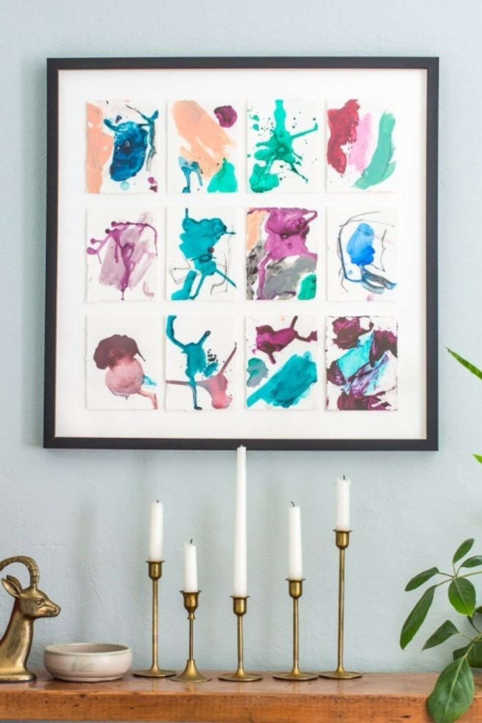 Diy Wall Decor With Pictures  from www.brit.co